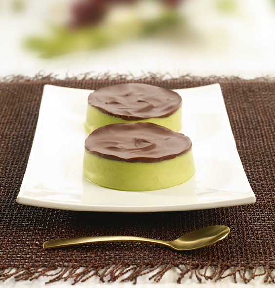 Avocado Lime and Chocolate Parfait