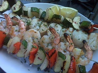 Seafood Kabobs - Grilled Chicken Starters