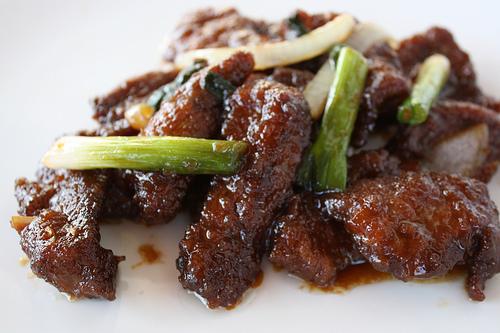 the mongolian beef