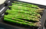 cook asparagus on gas grill