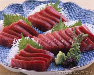 Fresh tuna for steaming