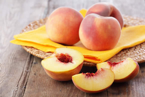 top 10 fruits you should buy organic - and enjoy 'peach 'n' roses' health