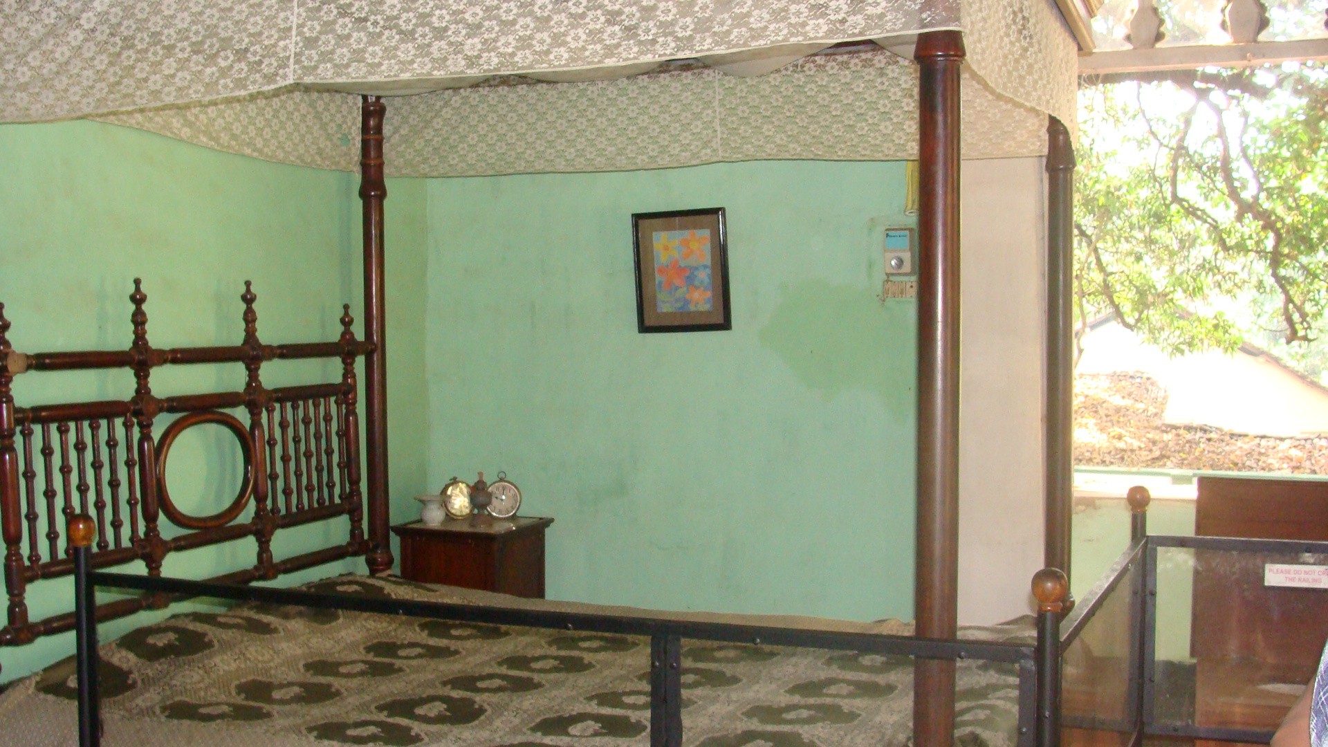 Old goan bed