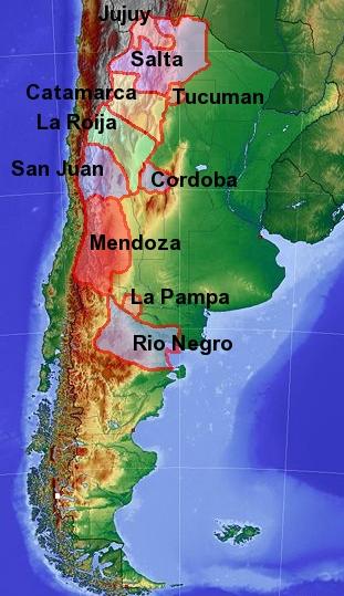 Argentina Wine Tour--Argentina wine regions