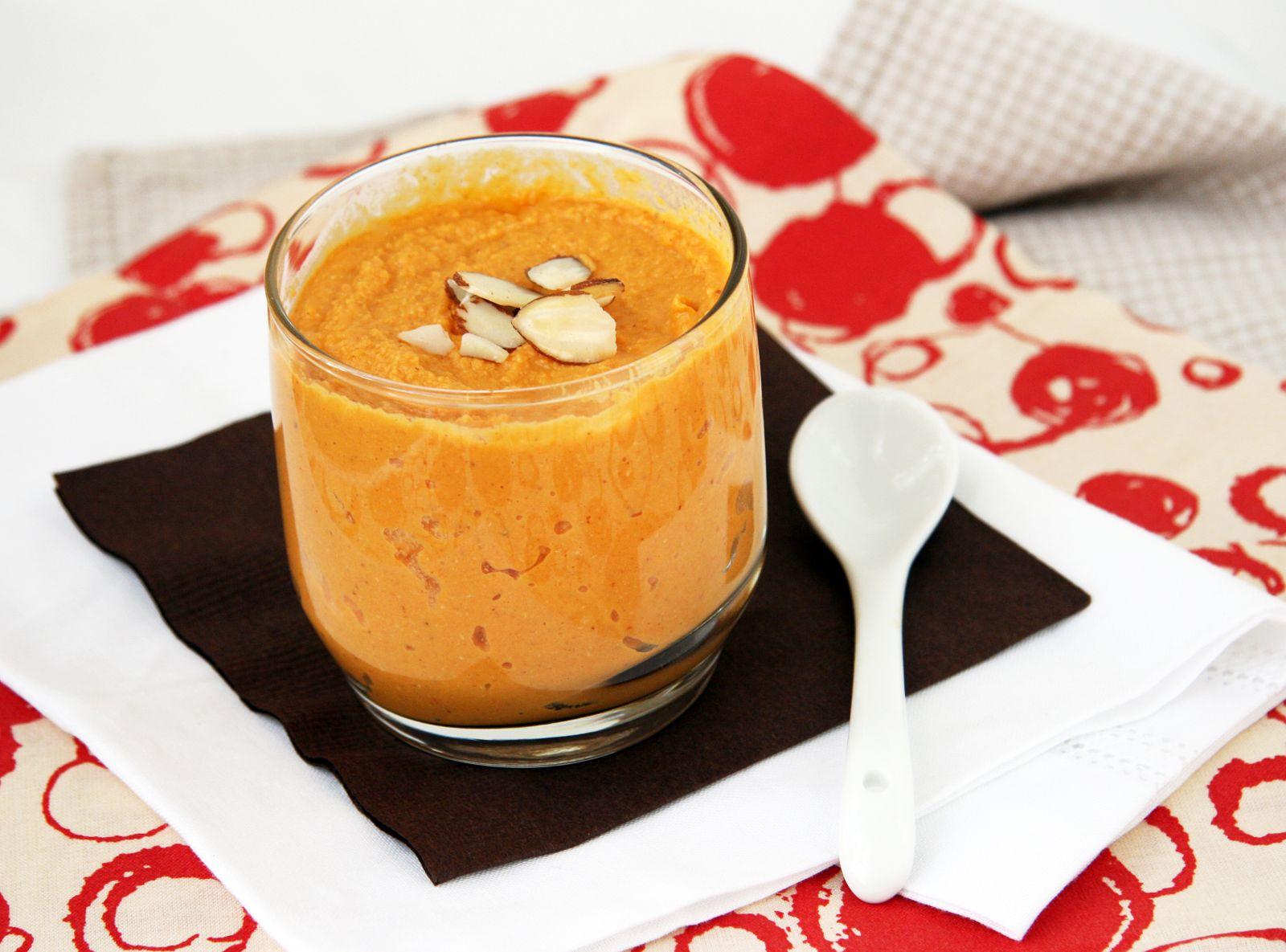 Dairy Free Carrot Pudding