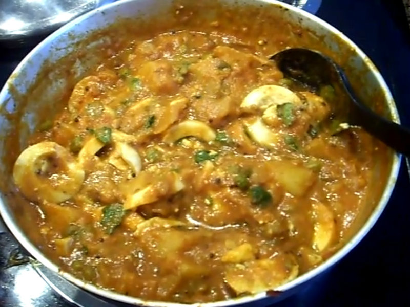 How To Make Egg Curry Indian Style Recipe Video By Eat