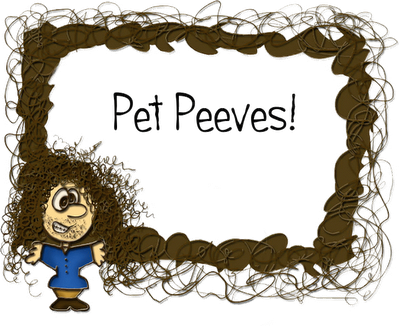 Gluten Free pet Peeves