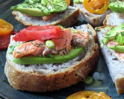 trout sandwich