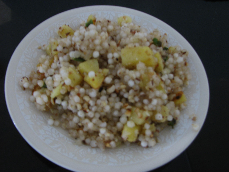 Sabudana Cake Recipe In Marathi: Sabudana Khichdi Recipe, Sabudana (tapioca) Khichdi By