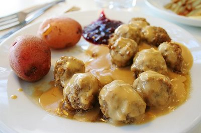 Midsummer menus are often served as a varied smörgåsbord, though two just-in-season ingredients are always showcased: strawberries and new potatoes. It's hard not to love new potatoes, especially the buttery golden ones that are so small they don't even need to be cut in two.