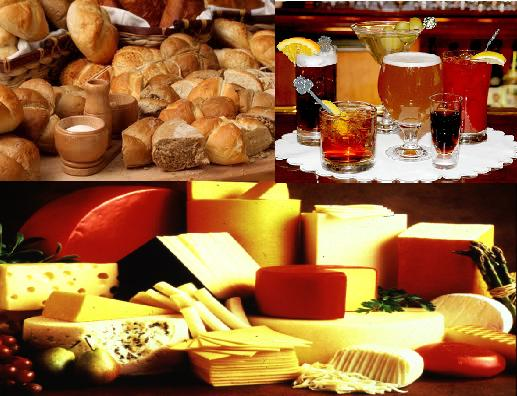 Leavened bread, fermented alcohols, and cheese are some of the food containing yeast