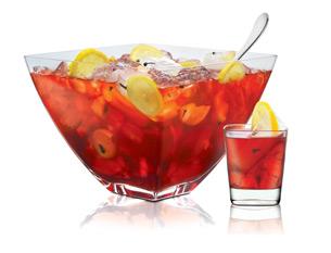 Punch Bowl Cake Fruit Cocktail