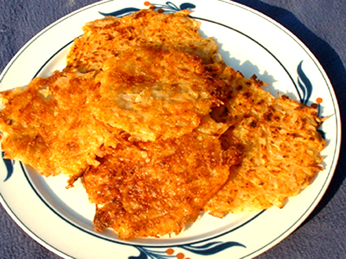 Celeriac Potato Pancakes With Apple Crème Fraîche Recipes ...