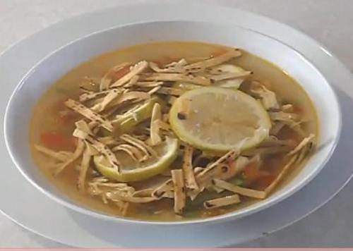 Lime Soup Yucatan