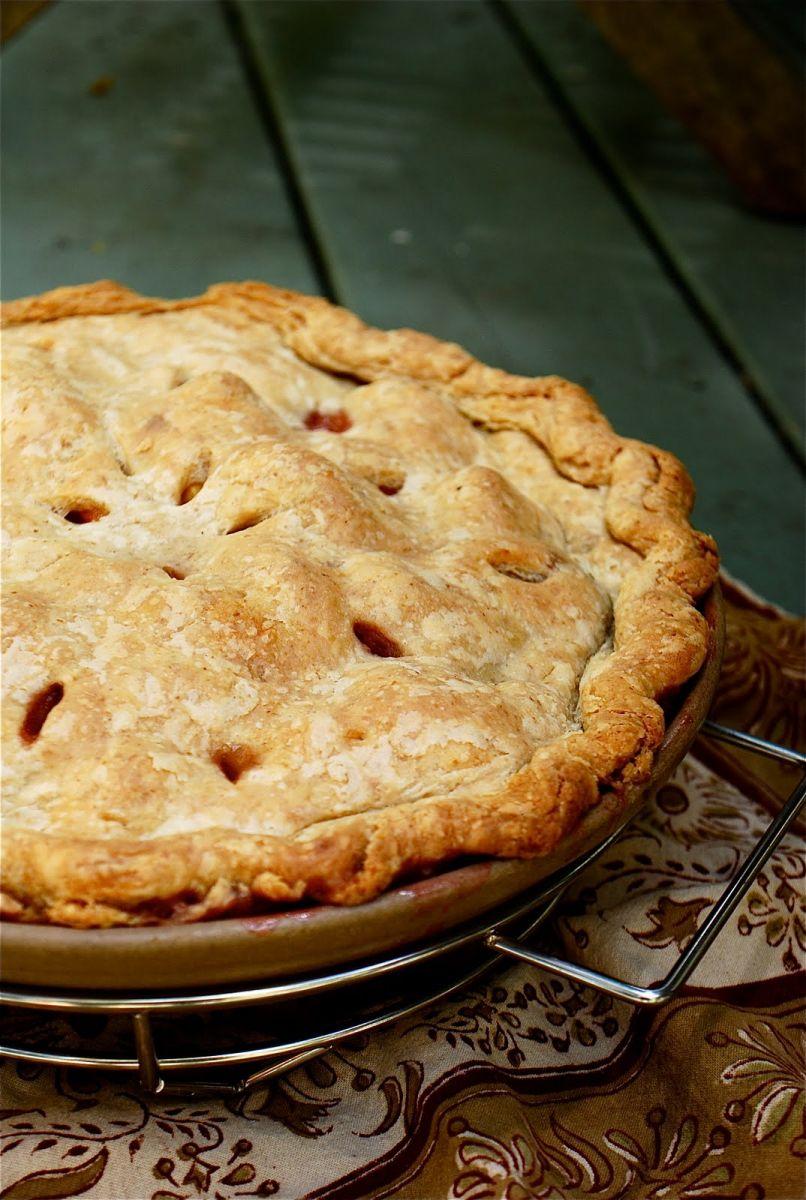 Peach Pie Toppings
