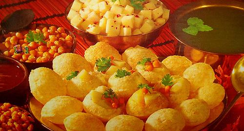 Mumbai Pani puri - fast food