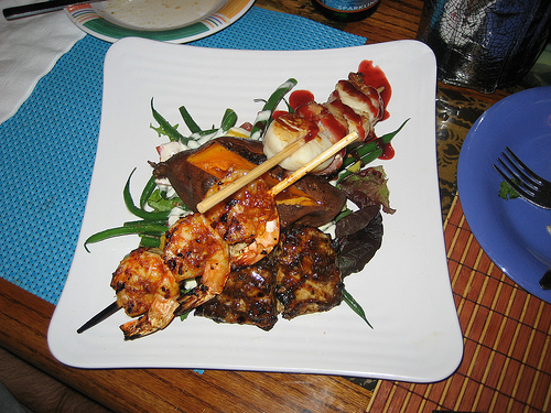 Scallop Kabobs - Delightful Scallops Starters