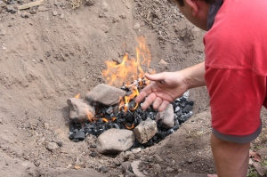 how to cook whole lamb outdoor