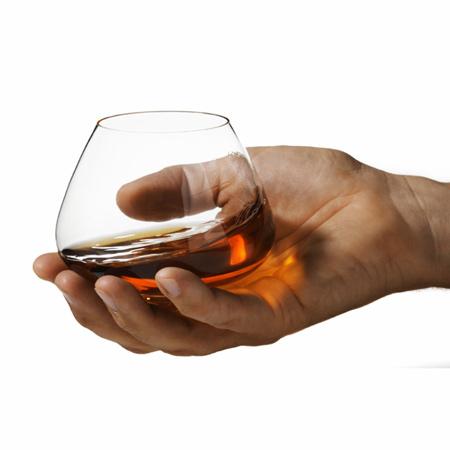 Serving Brandy