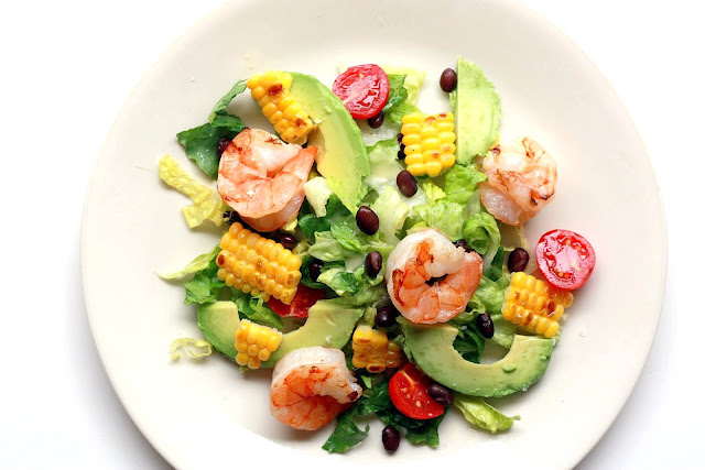 Mexican Shrimp Corn Salad