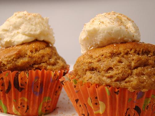 vegan pumpkin spice cupcakes
