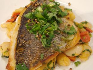 Moroccan baked fish - soft and juicy