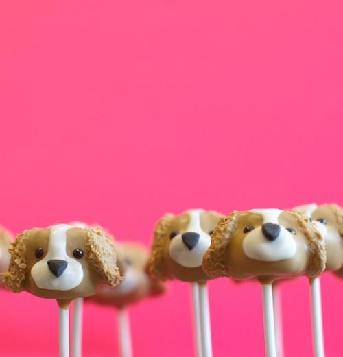Puppy Cake Pops Recipe