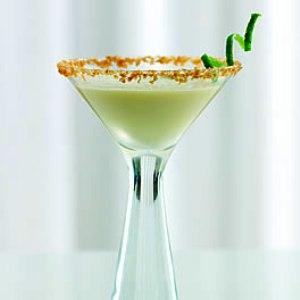 Lime Spiral Garnish