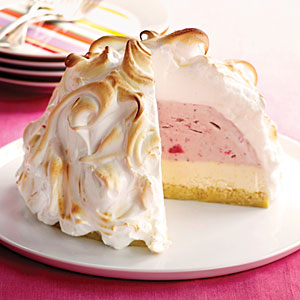 Top Ten food Inventions by America-baked alaska