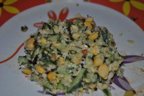 Koshimbir - The Salad