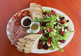 Onion Salad With Cold Meat - Cold Meat Starters