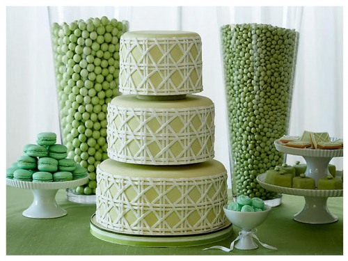 A Cute Wedding Cake
