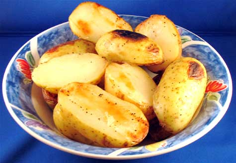 Grilled potato makes a delicious grilled vegetable delicacy