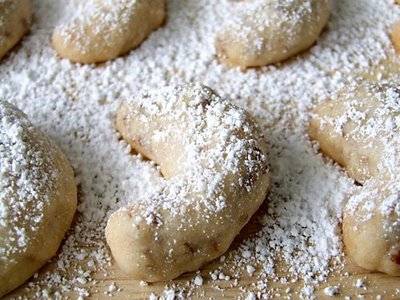 Learning how to make Mexican wedding cookies