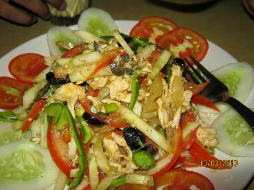 Garden Chicken Salad - Delectable Chicken Starters