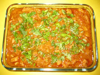 Chicken Bharta - Spicy chicken meal