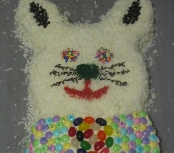 Making Bunny Cake