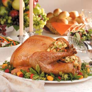 Serving turkey - easy tips