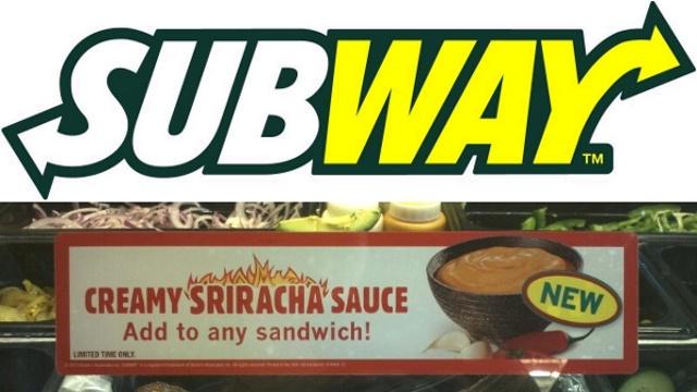 Subway Sriracha