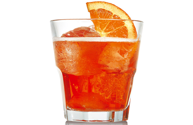 Campari And Soda Recipe by Mix.It.Up.Bartender | iFood.tv