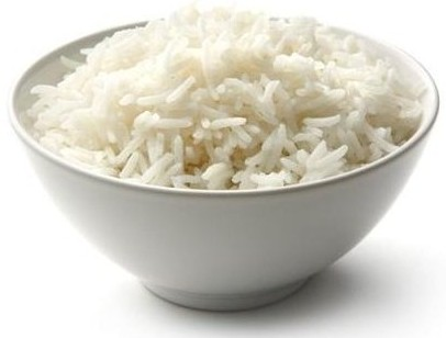 Bowl of rice - how it is served