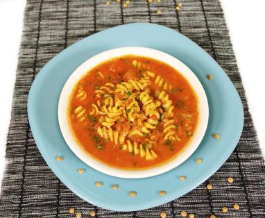 Leftover Pasta Soup