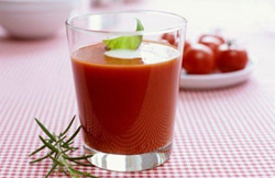 Remedies for anemia - beet juice