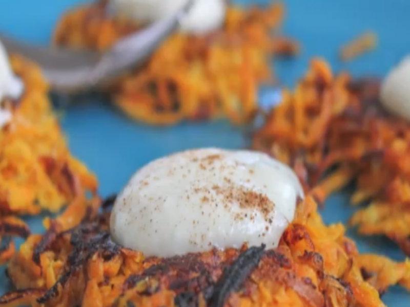 Sweet Potato Latkes Recipe Curry Sweet Potato Latke