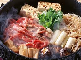How to eat Sukiyaki