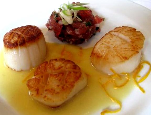 Sea Scallops In Saffron Sauce Recipes — Dishmaps