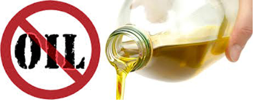 Image result for picture cooking with less oil