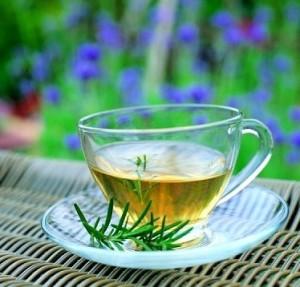 Herbal tea skin benefits