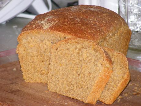 Anadama bread consumed for breakfast
