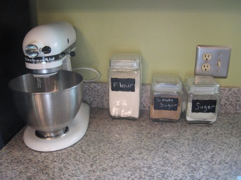 home baking area